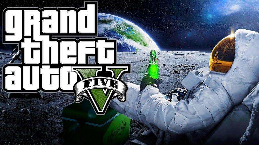 Grand Theft Auto 5 Space Mod