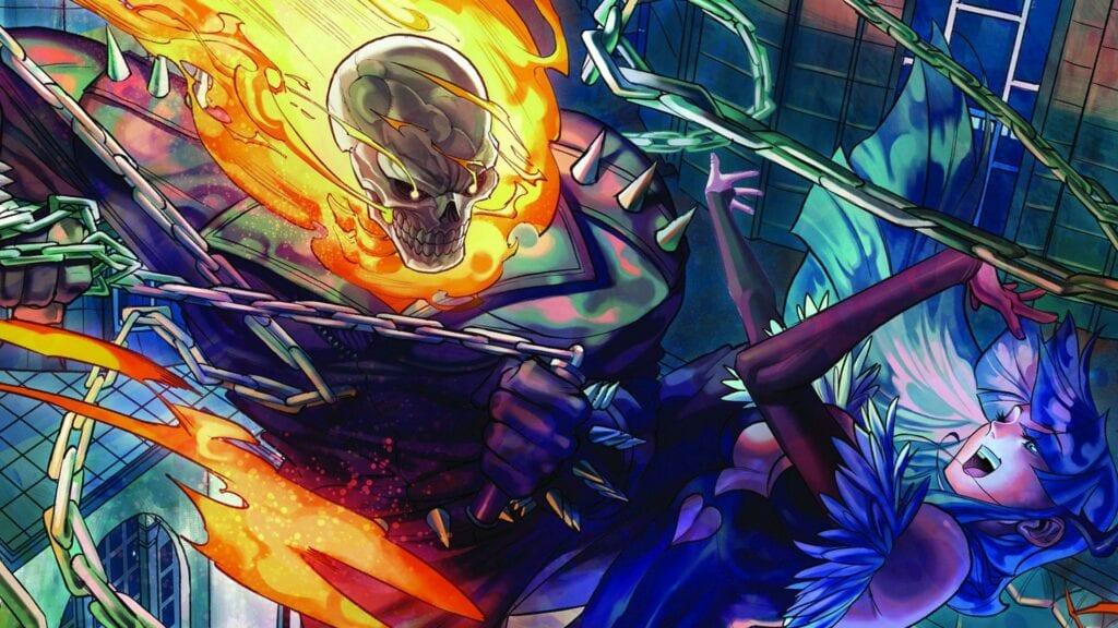 Ghost Rider Officially Joins Marvel vs Capcom Infinite