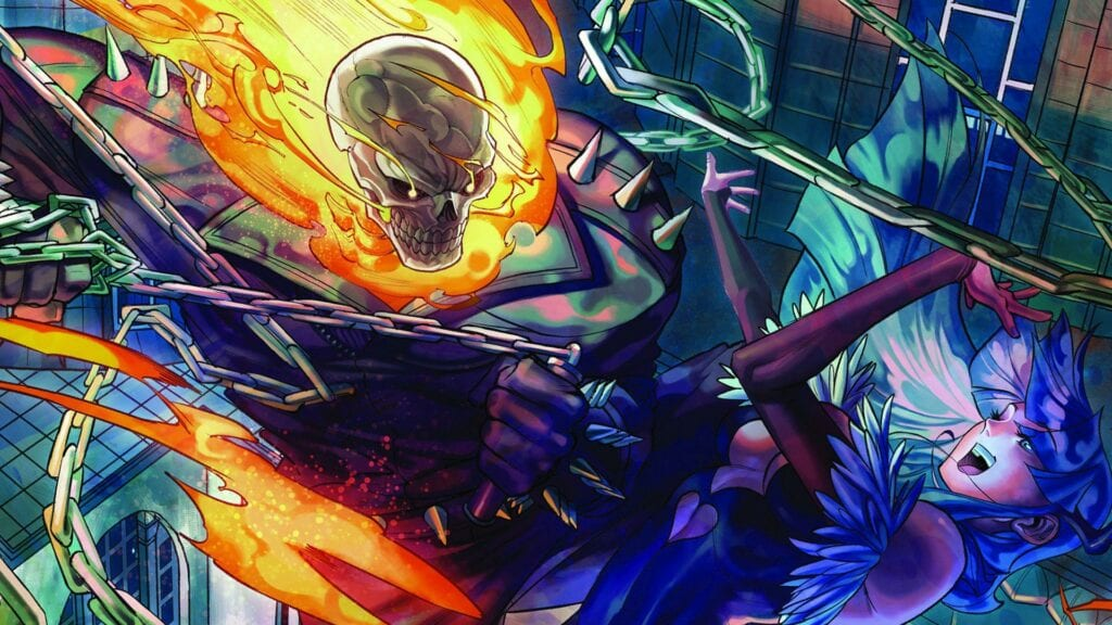 Ghost Rider Officially Joins Marvel vs Capcom Infinite