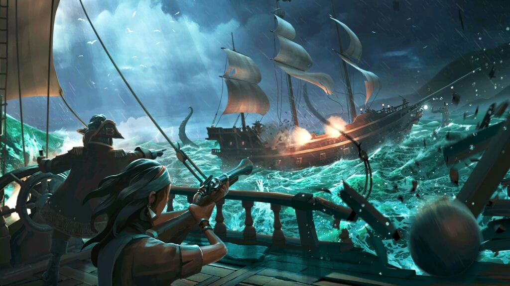 Sea of Thieves Cross-Play Announced at Gamescom