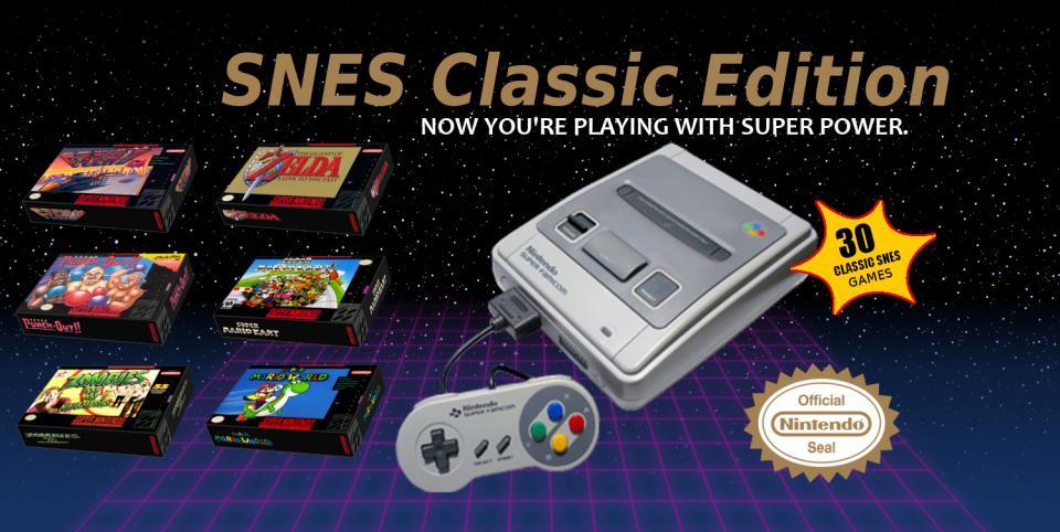 SNES Classic Edition Pre-Ordering