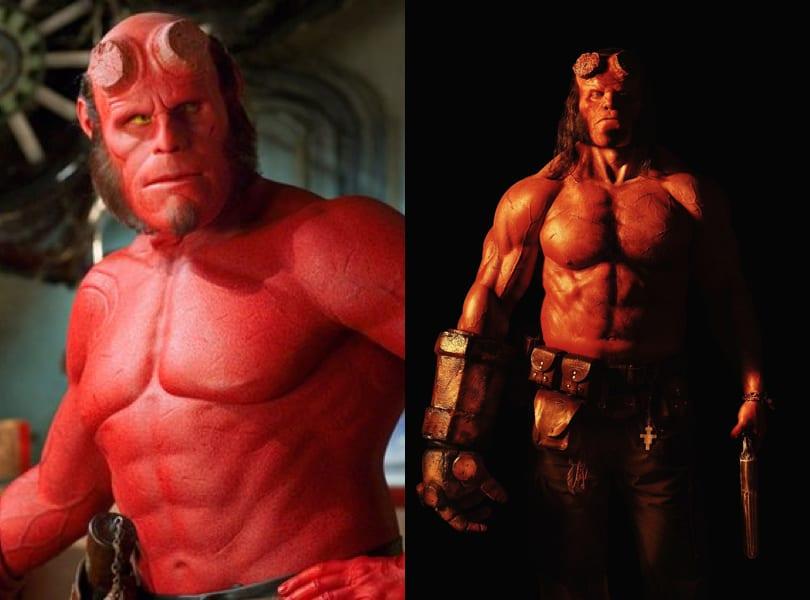 Hellboy comparison