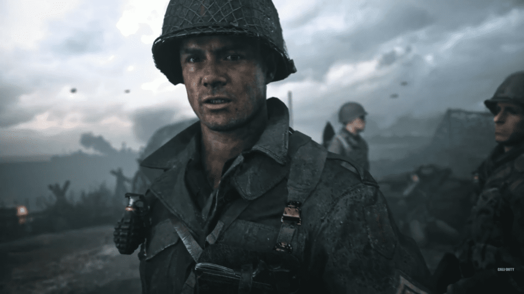 Call of Duty WWII character trailers