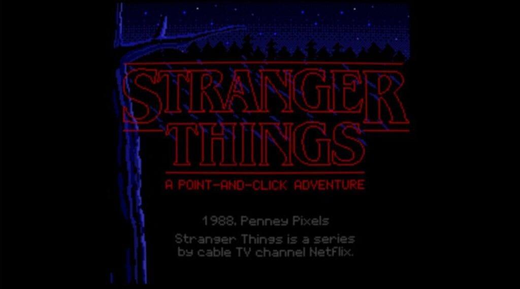 Stranger Things Lucasarts