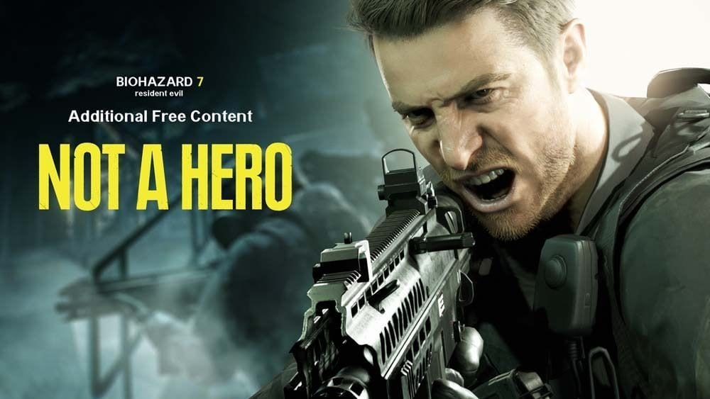 Chris Redfield in 'Not a Hero'