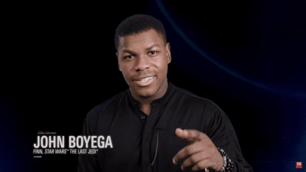 John Boyega Star Wars Battlefront II