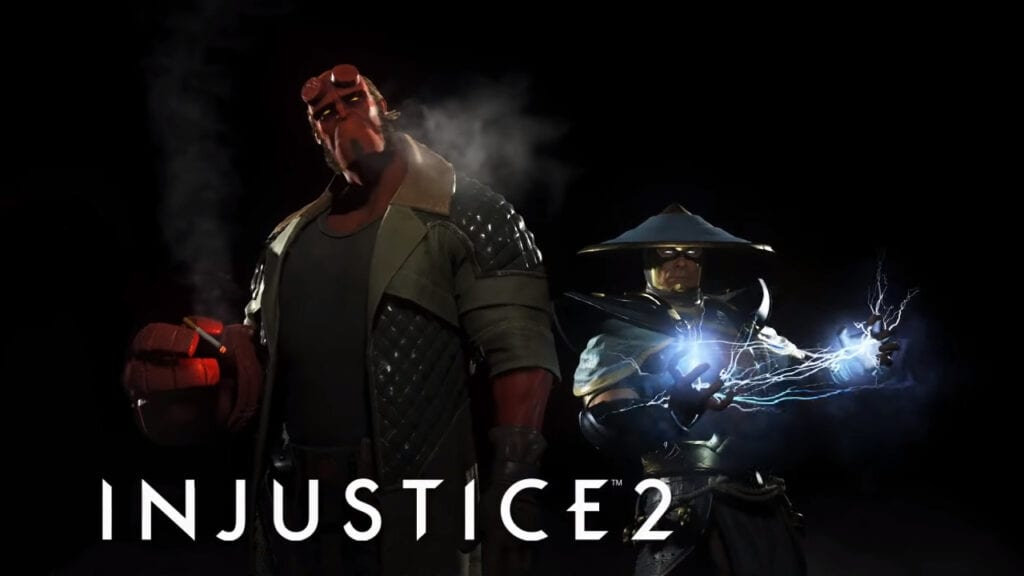 Injustice 2 Portrait Images Leak – Best Look Yet at Hellboy and Raiden