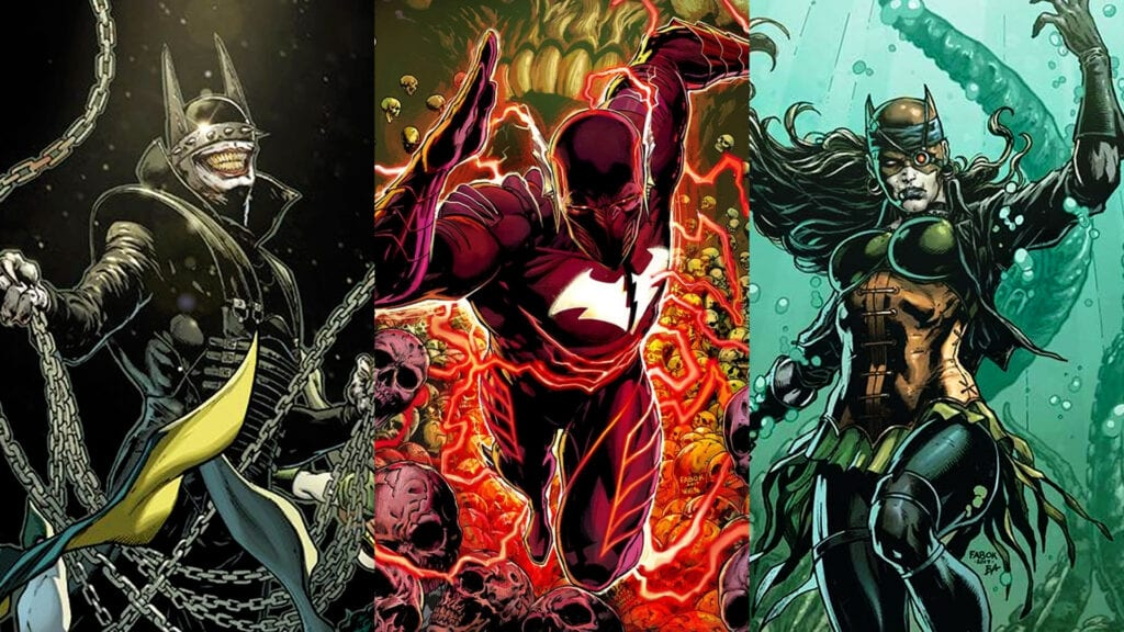 Nightmare Batmen in Dark Nights: Metal