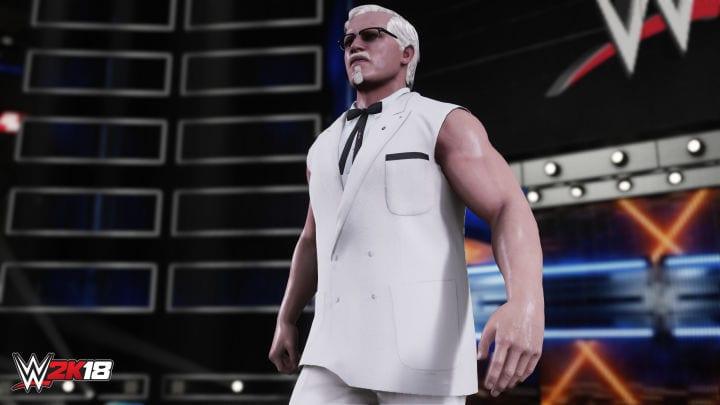 WWE 2K18 KFC