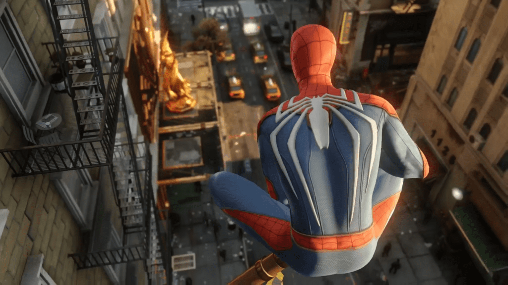 4K Spider-man Screenshots
