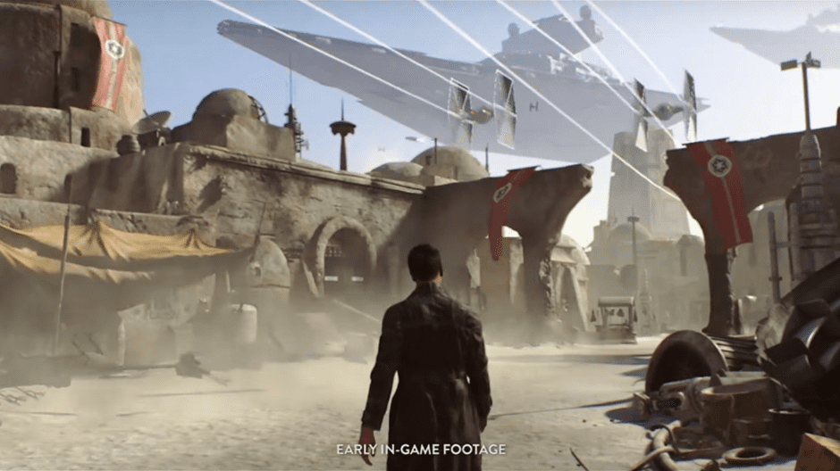 Visceral's Star Wars game concept footage