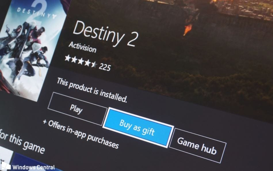 Xbox One's Game Gifting feature