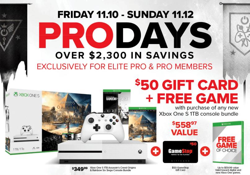 Pre-Black Friday GameStop Deals