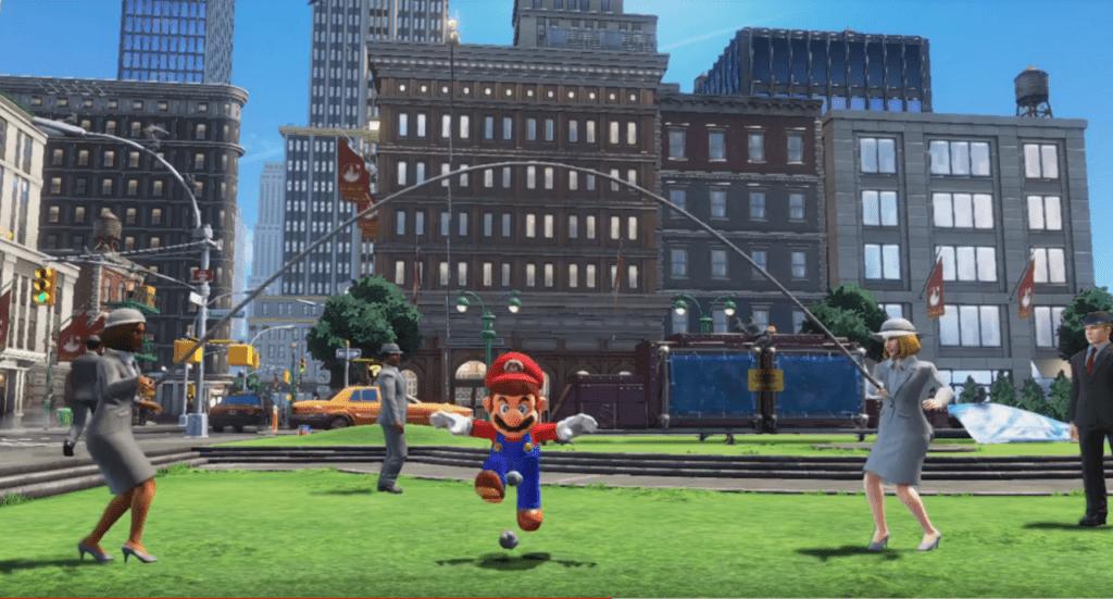 Super Mario Odyssey Glitch