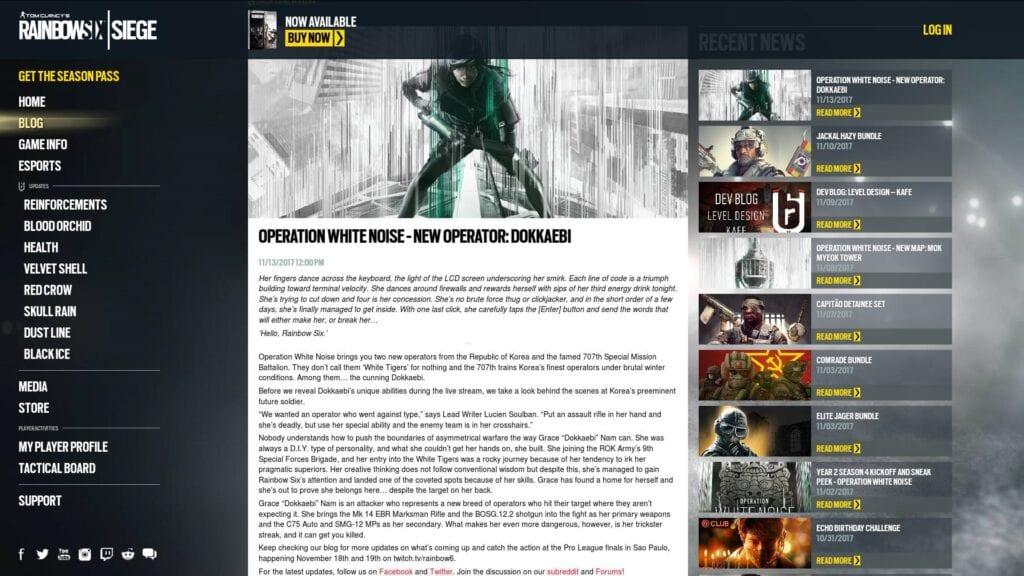 Rainbow Six Siege Newest Operator Leaked Early Meet The Hacker