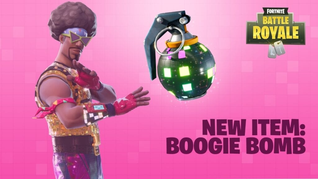 Fortnite Boogie Bomb