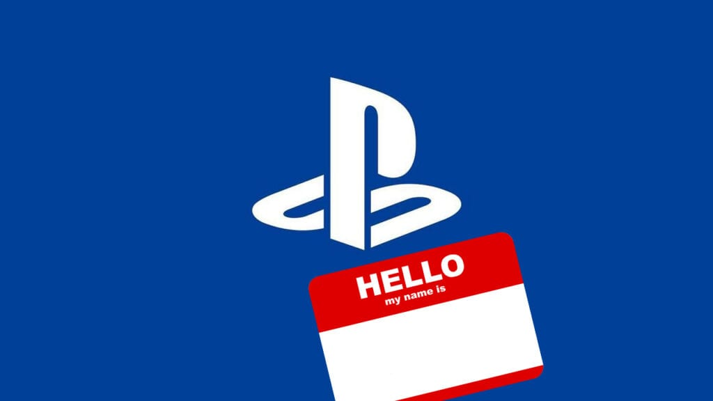 PSN Name May Be In The Works