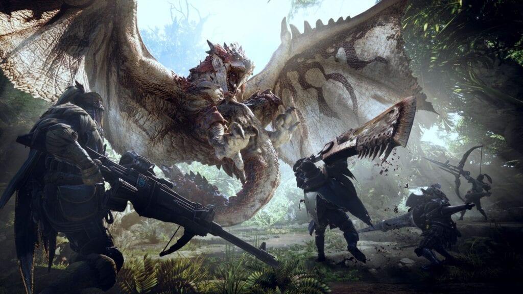 Monster Hunter World Nintendo Switch