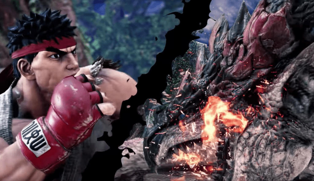 Monster Hunter World Street Fighter V Crossover