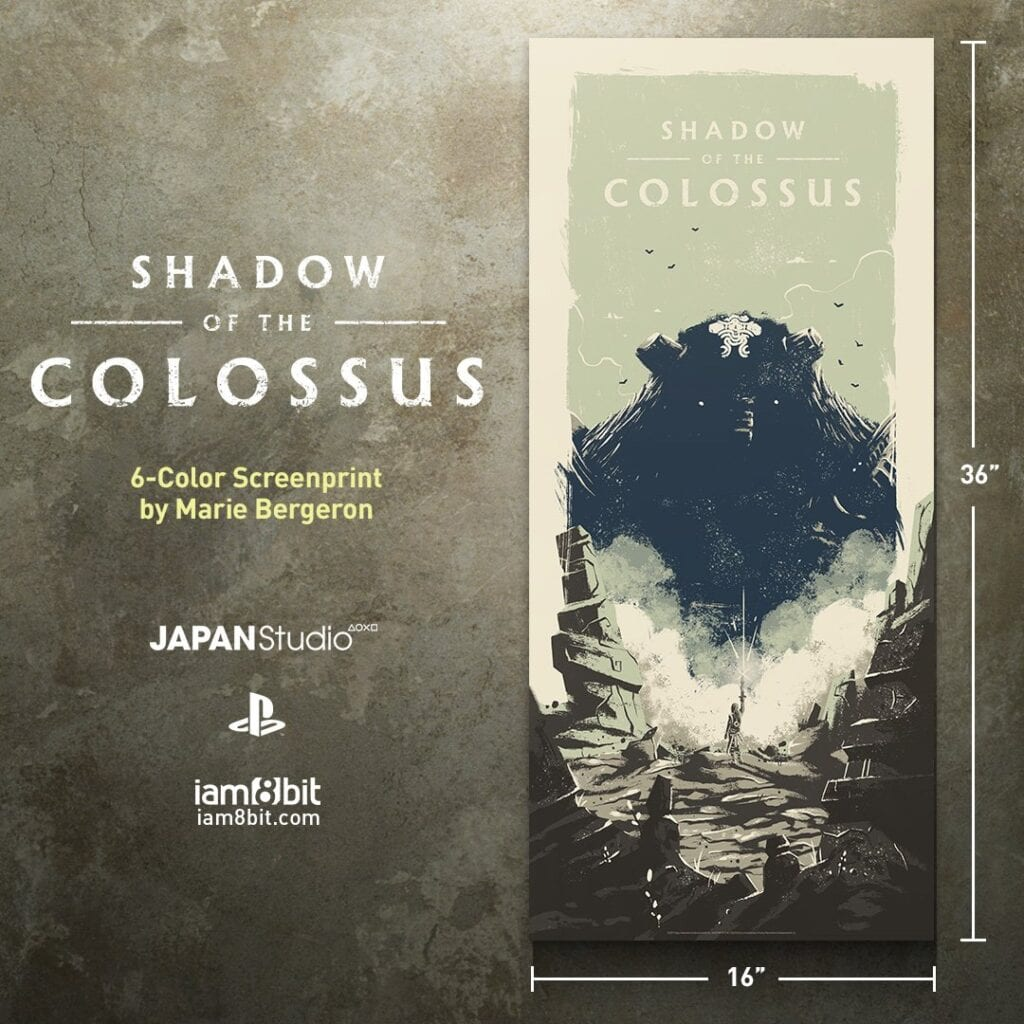 Shadow of Colossus Vinyl Soundtrack and art prints
