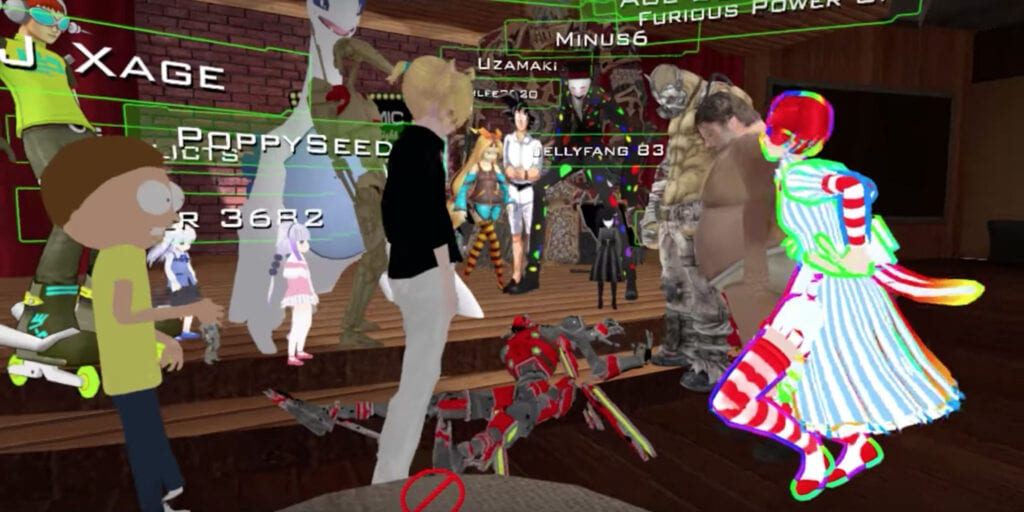 VR Chat Players