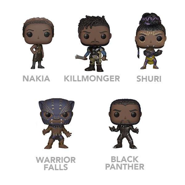 black panther funko pops