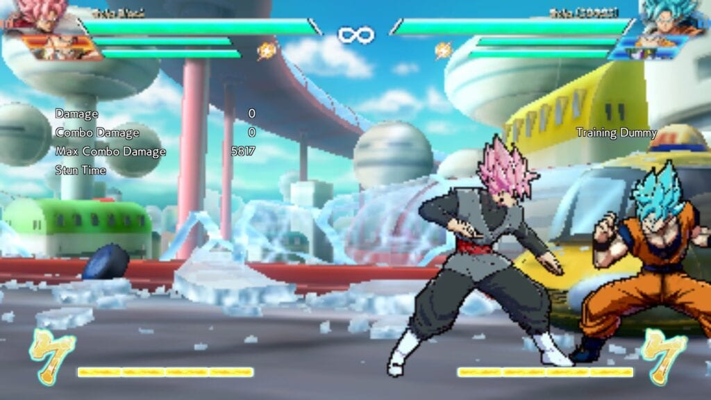 Low Resolution Dragon Ball FighterZ