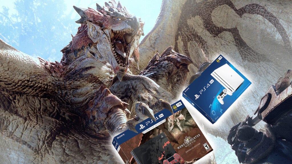 Monster Hunter PS4 Pro