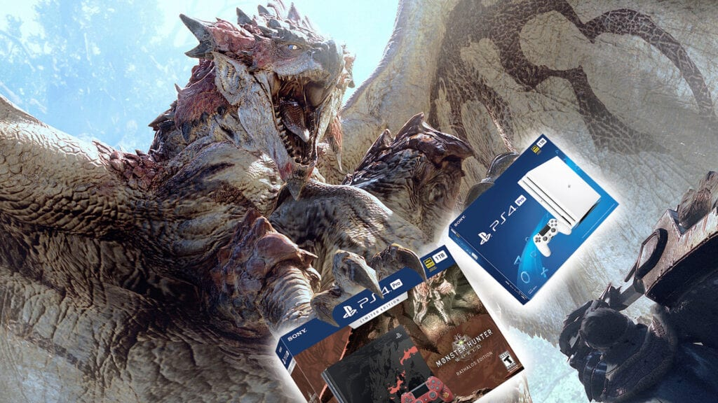 Monster Hunter PS4 Pro