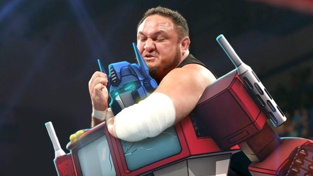 Samoa Joe WWE Transformers