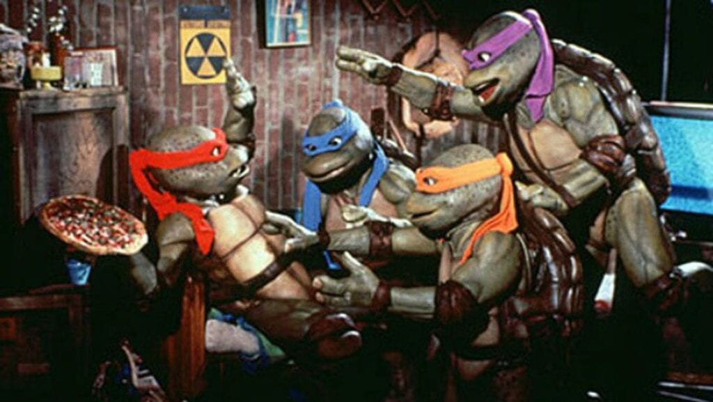 Vegan Teenage Mutant Ninja Turtles