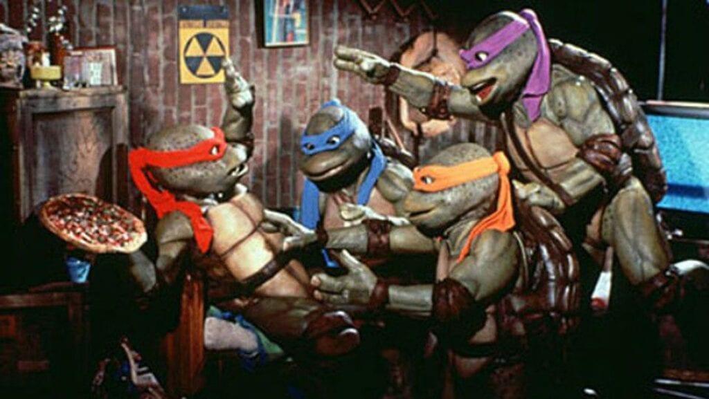 Vegan Teenage Mutant Ninja Turtles