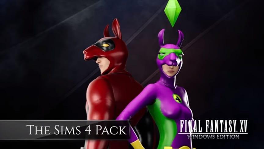 Final Fantasy 15 Windows Edition - The Sims 4