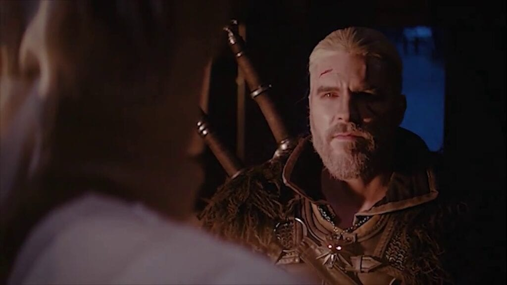 Geralt vs Chuck Norris