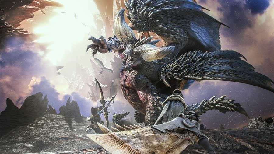 Monster Hunter World Update
