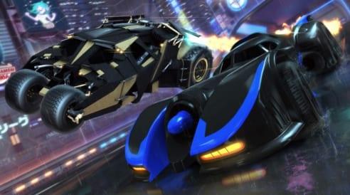 Rocket League Batmobiles
