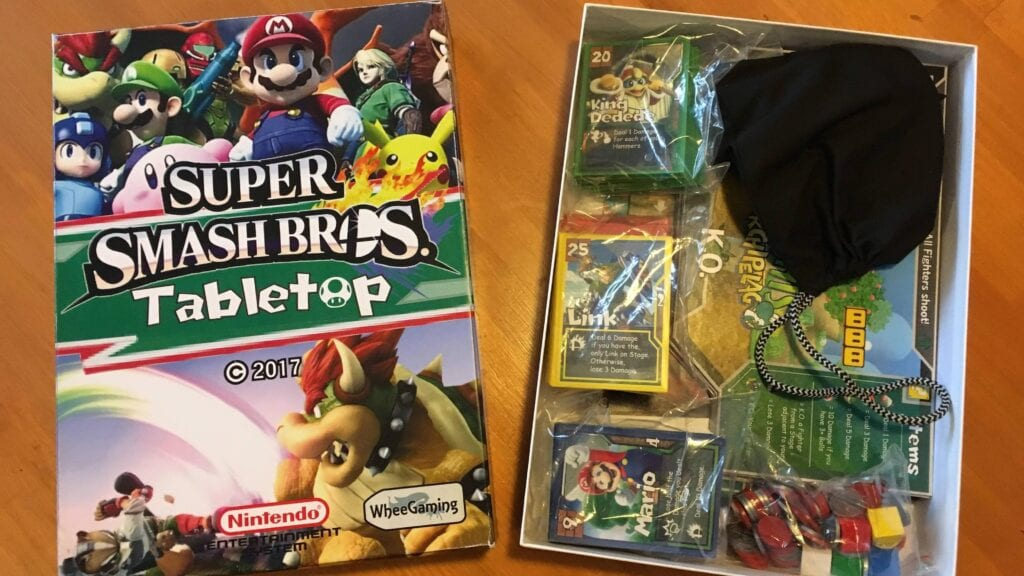 Super Smash Bros Tabletop Game