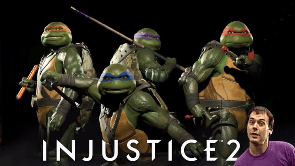 Injustice 2 Teases Teenage Mutant Ninja Turtles