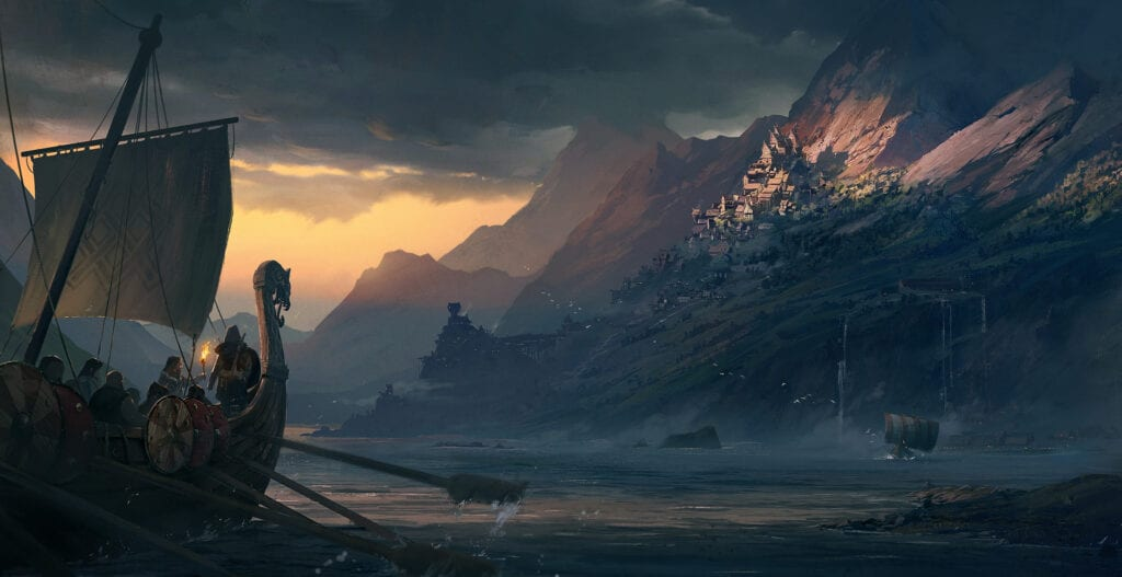 Ubisoft Concept Art Hints At Viking Themed Assassin S Creed Game