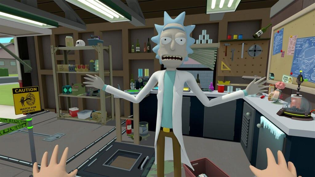 Rick and Morty Virtual Rick-Ality PSVR