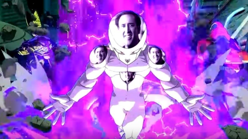 Dragon Ball FighterZ Nicolas Cage Mod