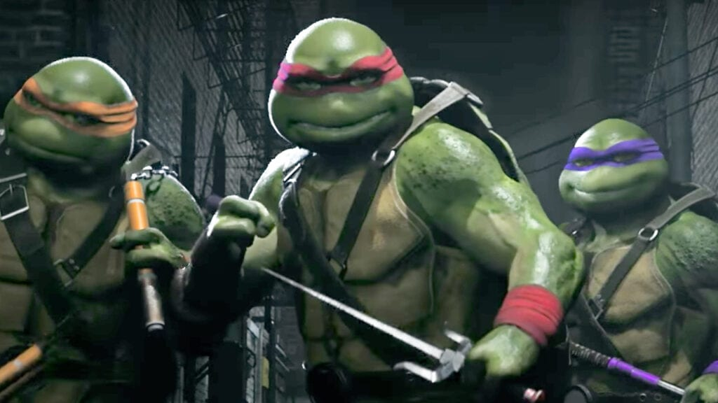 Ninja Turtles Footage