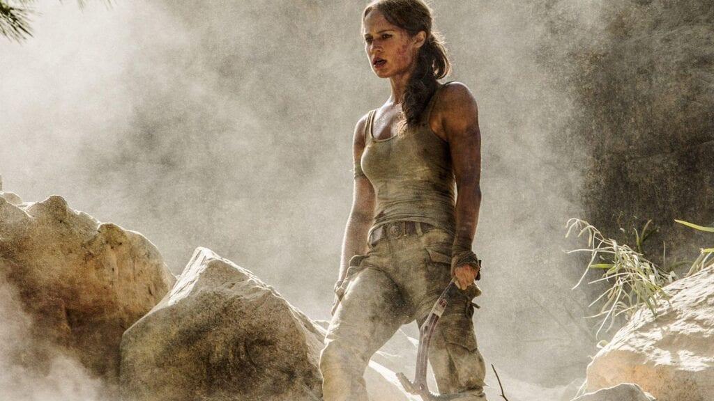Tomb Raider Actress Alicia Vikander