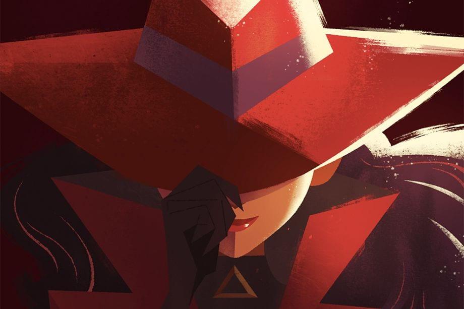 Netflix Carmen Sandiego film