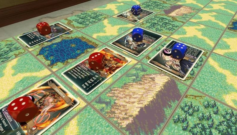Fire Emblem Heroes-Inspired Board Game