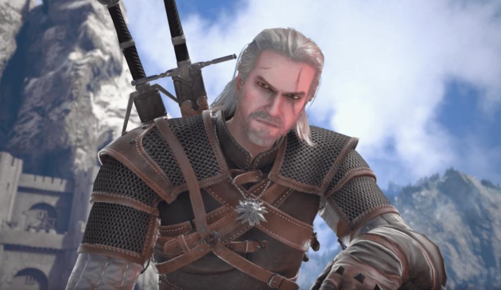 SoulCalibur VI - The Witcher's Geralt