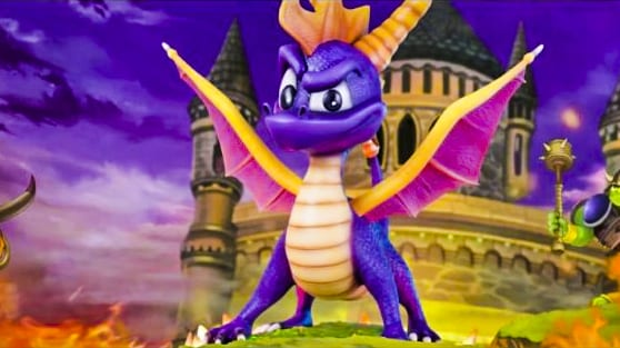 Spyro the Dragon demo code