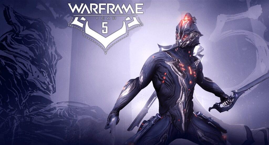 Warframe 5th Anniversary Celebration
