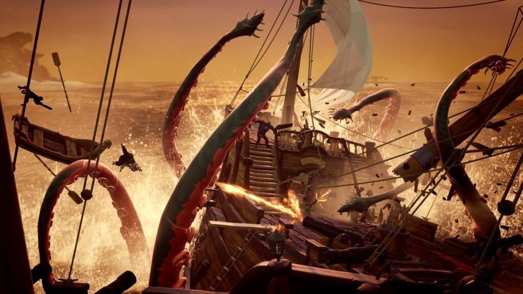 Sea of Thieves Kraken Design