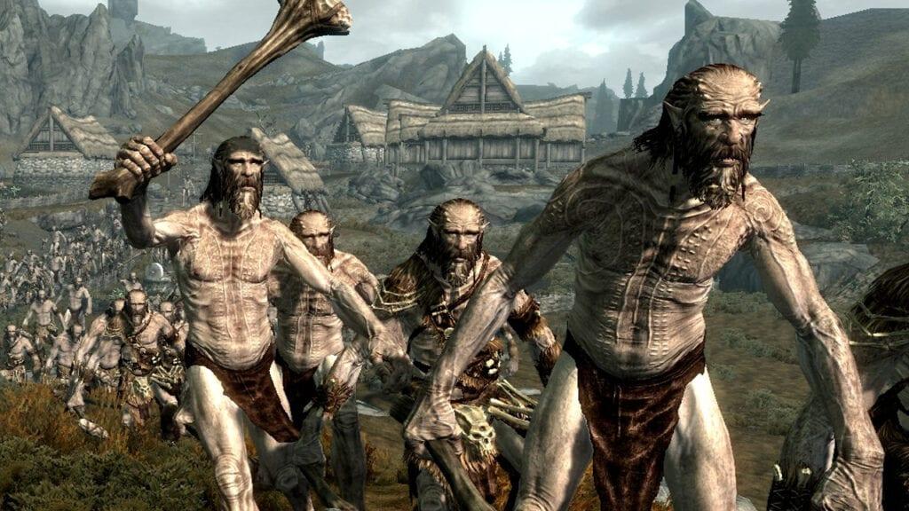 Skyrim Giants